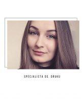 Klaudia – Specjalista ds. przygotowywania projektów do druku