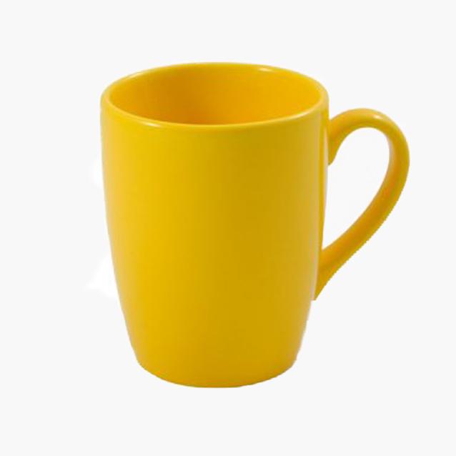 Kubek Baryłka żółty