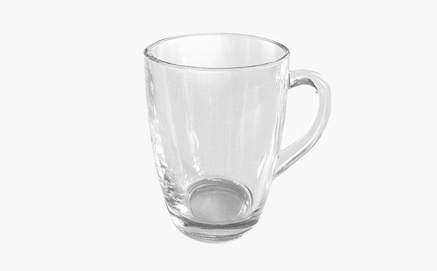 Kubek baryłka szklana