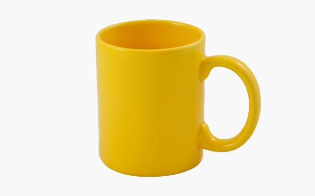 Kubek Boss żółty