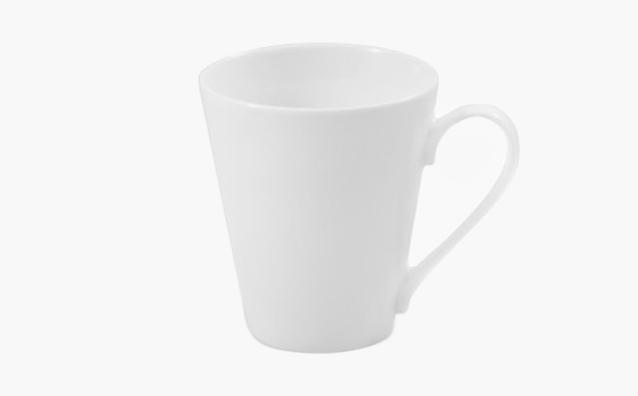 Kubek skośny porcelanowy